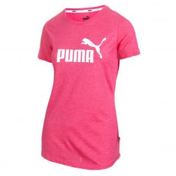 Camiseta  Puma Essentials + Heather Tee Futebol