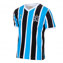 Camiseta  Retro Mania Gremio Rs Tricolor 1983 Casual