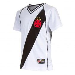 Camiseta Juvenil Retro Mania Vasco Da Gama 2000 Casual